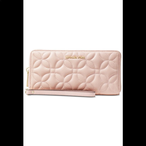MICHAEL Michael Kors Handbags - 🌸 Leather  Floral Continental Wallet Michael Kors